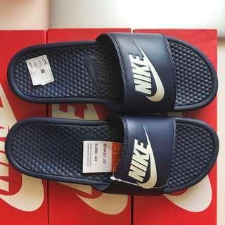 🚚 Nike Benassi Slides NAVY