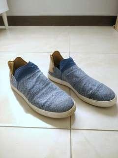 Adidas x Pharrell Williams 菲董 Slip On 男生藍色鞋子 US 10 正品