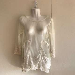 Lace top one size