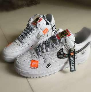 Air Force 1 Just Do It White
