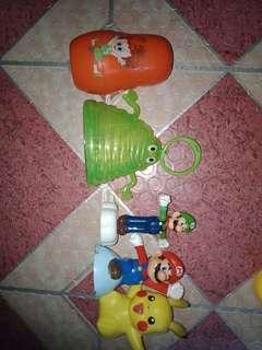 Bundle toys 3 (mcdo toys)