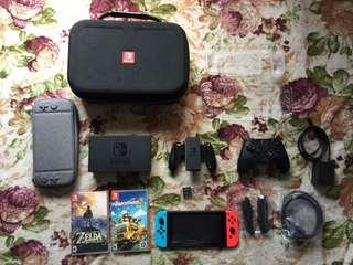 Nintendo Switch with Games and Accesories (Complete Package)