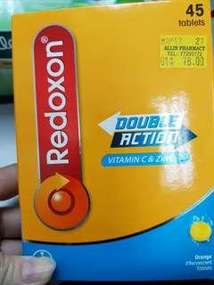 Redoxon double actiin x 3/box(45 tables)