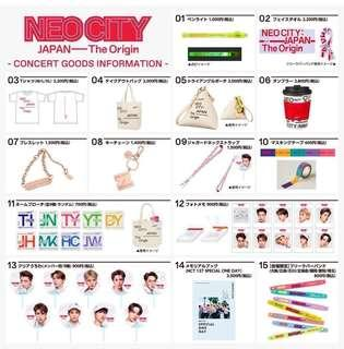 [CLOSED] NCT Japan Tour Goods (2ND BATCH)