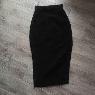 Boom Sason Long skirt with side slits