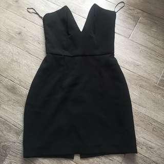 Boom Sason Black Tube Dress