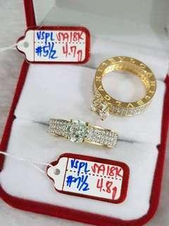 18k Gold Bvlgari Ring