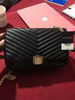 Topshop Black Sling Bag