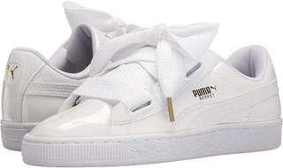 Authentic Puma Women's Basket Patent Fashion sneakers