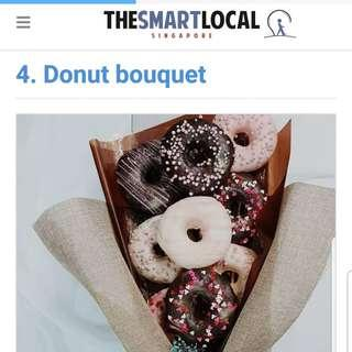 🚚 bouquet (edible donuts)