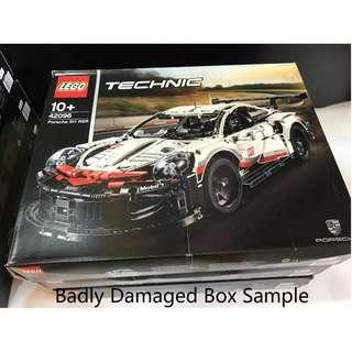 Belrion LEGO 42096 Technic 42096 PORSCHE 911 RSR ( Damaged Box )