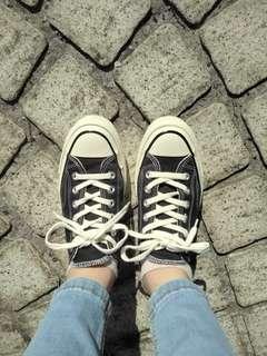 🚚 Converse復刻休閒帆布鞋(不議價)