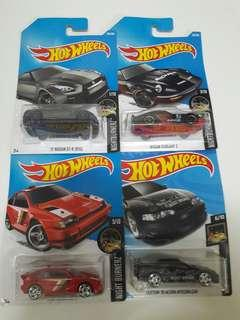 Hot Wheels Lot JDM Night Burner