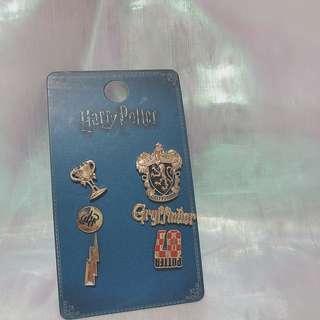 英國購入Primark 哈利波特 葛萊分多 襟章 一套六個
