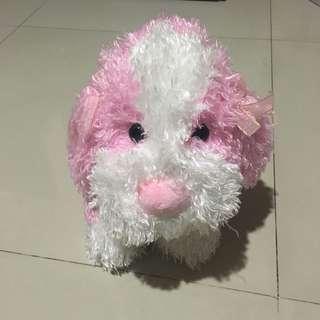 Cute Pink Puppy Doll