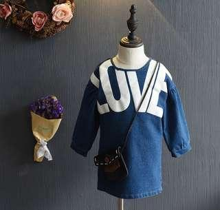 🚚 LOVE Korean style Denim Dress