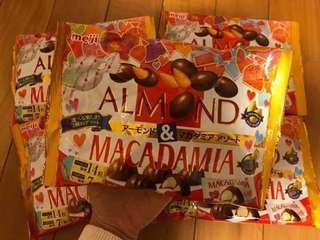 Meiji Almond & Macadamia 🇯🇵