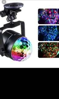 🚚 Mini USB 6w led Party Lights Portable Crystal Magic Ball Home Party Karaoke Decorations Colorful Stage LED Disco Light