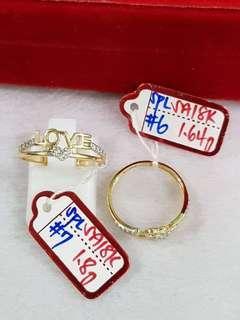 18k Gold Ladies Ring