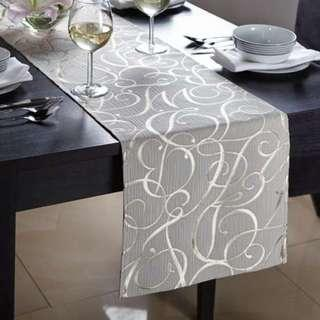 H&M Table Runner Table Cloth - Grey