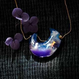 【純淨旅途】 項鏈 Necklace Emma Tam Accessories Snow 情人節 婚禮 新娘 頭飾 耳環 回禮