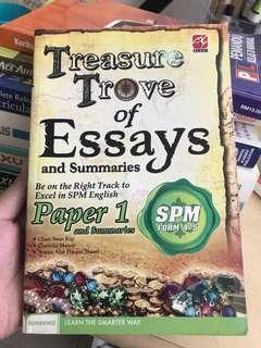 SPM English Essay Reference book