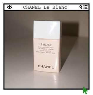 Chanel Le Blanc Light Creator Brightening Makeup Base in 10 Rosée