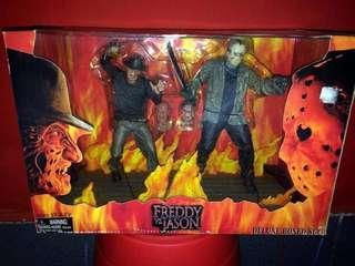 NECA Freddy vs Jason exclusive boxset 2004
