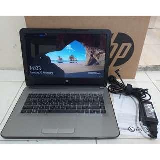 Laptop Desain HP 14-af118AU Amd A8 with Radeon R5 Ram 4GB Hdd 500GB
