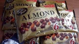 Lotte Almond sharepack 🇯🇵