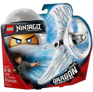 BUY 1 Free 1- LEGO NINJAGO Spinjitsu buy  70648 free 70634