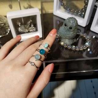 🎋新春大吉全店半價💖 戒指款式很多哦!只需$100 /1🔥