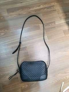 🚚 Authentic GUCCI Sling in dark brown