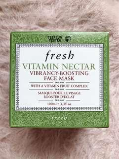 Fresh Vitamin Nectar Face Mask 維他果蜜亮活面膜 tester 100ml