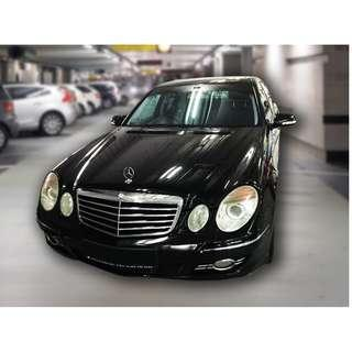 Mercedes E230 Car for Rent / Lease