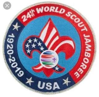 24th World Scout Jamboree Badge 2019