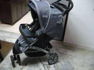 SCR1 Sweet Cherry Baby Stroller