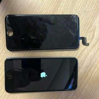 lcd iphone 5/6/7/8 new free pasang dan temperd glasd