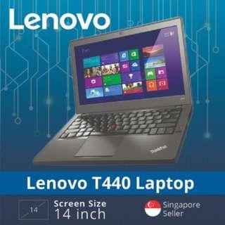 🚚 Refurbished Lenovo Thinkpad T440 / Intel Core i5 / 8GB RAM / 128GB SSD / Windows 7 / One Month Warranty