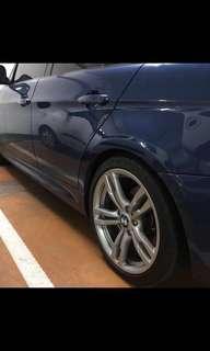 BMW E90 原廠 441 M框/鋁圈 (詳細規格請參考圖表)