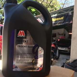 Millers Oil Trident Fully Synthetic 5W-40