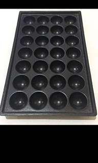 Takoyaki pan(28 holes) preloved