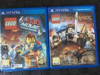 PSV Lego Game 兩隻
