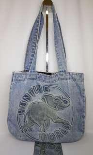 Hunting World Denim Tote Bag