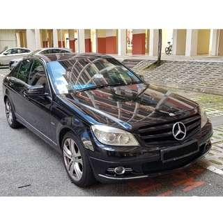 **CHEAPEST** Mercedes C200 Car Rental