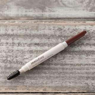 🚚 Innisfree眉筆。全新。色號5。
