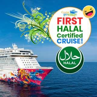 🚢 HALAL Genting Dream Cruise with FULL Package 🚢
