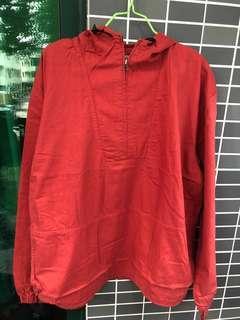 J. Crew 上衣 紅色 (XL)