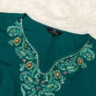 PS Green Blouse