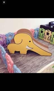 大象溜滑梯 黃色限量版